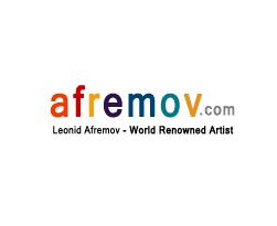 Leonid Afremov Kiosk Art Gallery