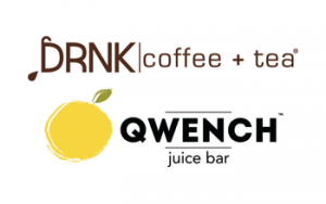 DRNK coffee + tea / QWENCH juice bar